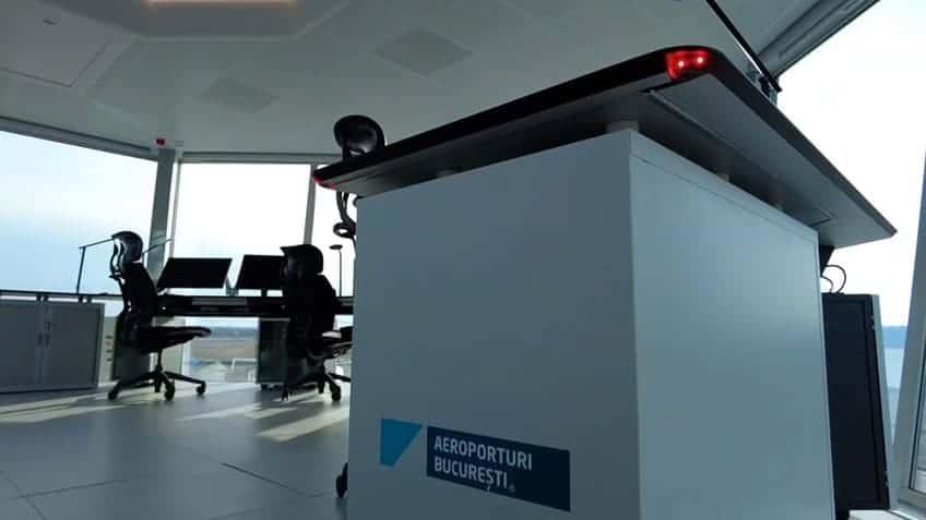Aeropuerto de Bucarest cabinets