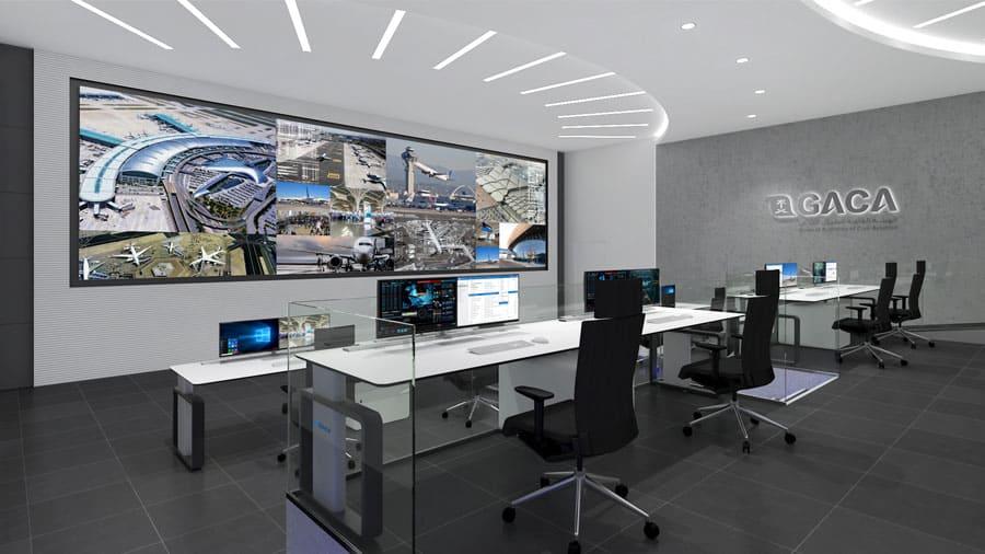 GACA KSA Control Room