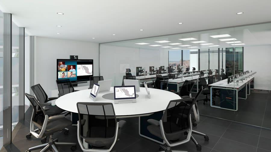 Sala para videoconferencias